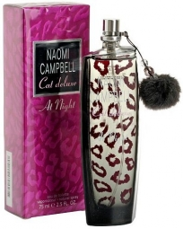 "Туалетная вода Naomi Campbell ""Cat Deluxe at Night"", 75 ml"