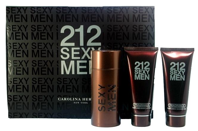 Подарочный набор Carolina Herrera 212 Sexy Men 3 в 1. Главная. Каталог.
